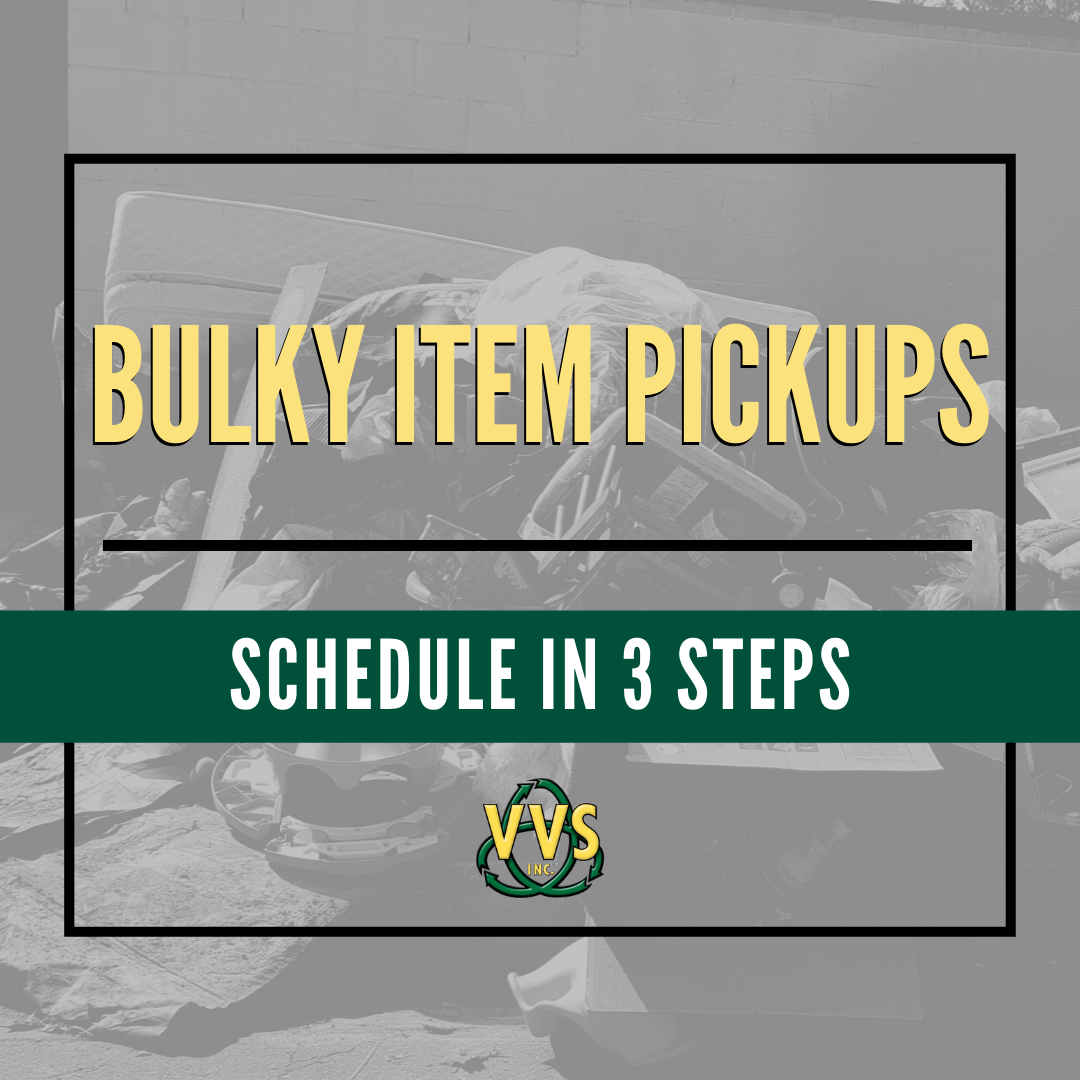 bulky item pickups in 3 easy steps